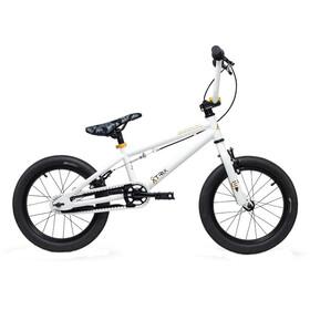 s'cool XtriX mini 16 Bicicletta bambino bianco/oro